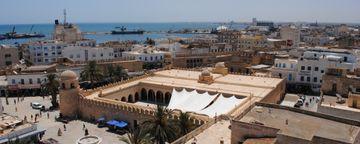 戴高樂機場2號航站楼站 (CDG)到Djerba Airport (DJE)
