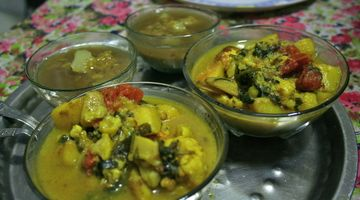 Dinner at Dutta's
