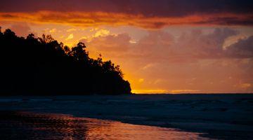 Sunset near Kota Kinabalu